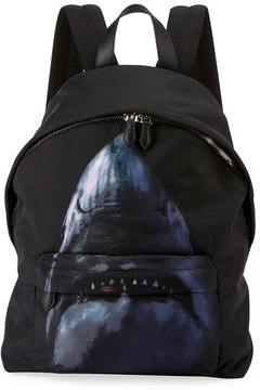 Givenchy Shark-Print Nylon Backpack