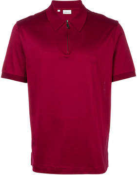 Brioni zipped collar polo shirt