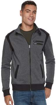 Rock & Republic Men's Moto Zip-Up Jacket