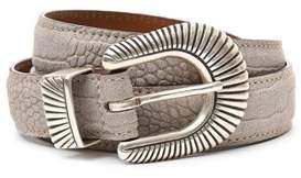 Eleventy Men's 979ci0016cin190082 Beige Leather Belt.