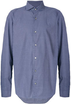 Drumohr checked shirt