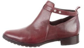 Elizabeth and James Leather Ankle Boots