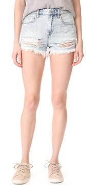 Blank Love Stoned Cutoff Shorts