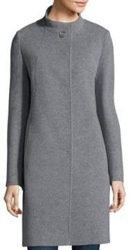 Cinzia Rocca Cashmere Button Front Coat