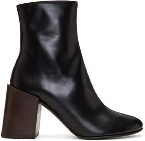 Acne Studios Black Saul Boots