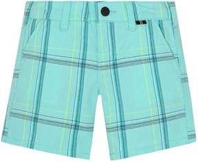 Hurley Baby Boy Plaid Shorts