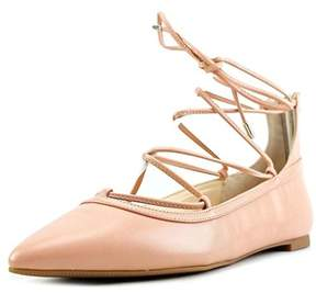 INC International Concepts Womens Zadde Pointed Toe Ankle Wrap Slide Flats.