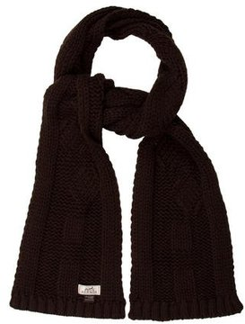 Hermes Cable Knit Cashmere Muffler
