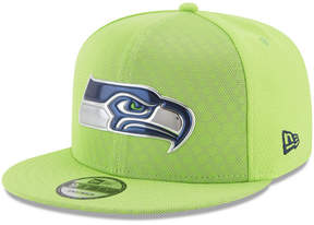 New Era Seattle Seahawks On Field Color Rush 9FIFTY Snapback Cap