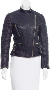 Celine Leather Moto Jacket