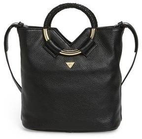 Sam Edelman Small Elina Leather Crossbody Bag - Black