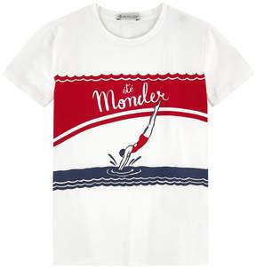 Moncler Printed T-shirt