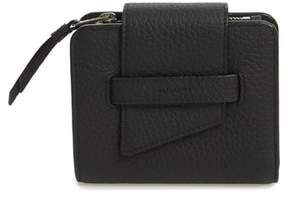 Women's Allsaints Small Ray Leather Wallet - Black