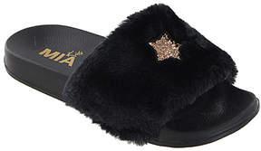 Mia Black & Gold Wild Sandal