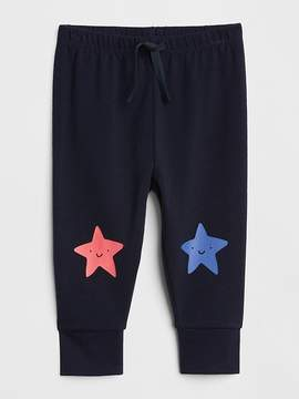 Gap Star Graphic Pull-On Pants