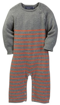 Toobydoo Baxter Striped Sweater Jumpsuit (Baby Boys)