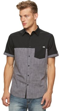 Rock & Republic Big & Tall Colorblock Button-Down Shirt