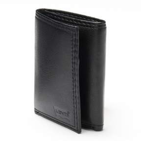 Levi's Men's Black Trifold Wallet
