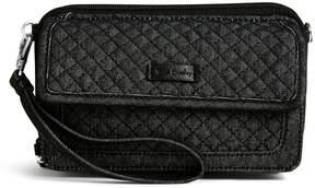 Vera Bradley Iconic RFID All in One Cross-Body Bag - DENIM NAVY - STYLE