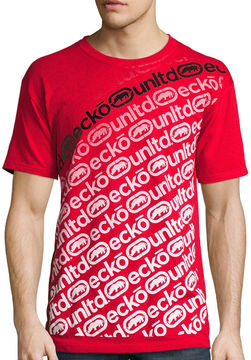 Ecko Unlimited Unltd. Short-Sleeve Stuttered Tee