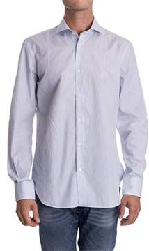 Aspesi Men's Light Blue Cotton Shirt.