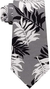 Sean John Men's Leaf Botanical Silk Tie