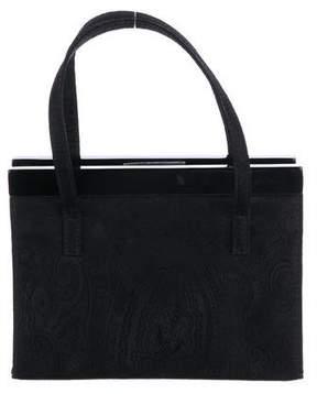 Etro Paisley Jacquard Handle Bag