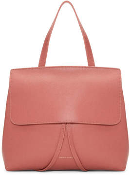 Mansur Gavriel Pink Saffiano Mini Lady Bag