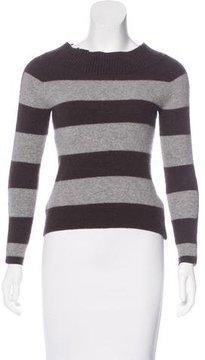 Bogner Virgin Wool Striped Sweater