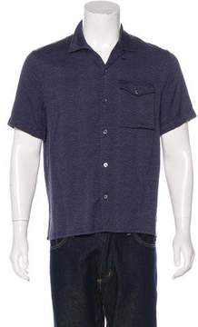 Louis Vuitton Printed Short Sleeve Shirt
