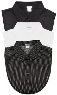 Dickies Igotcollared 3Pack of Black, White and Polka Dot Collared by