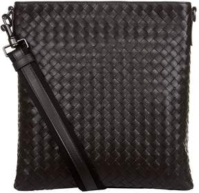 Bottega Veneta Leather Intrecciato Cross-Body Bag
