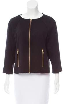 Amanda Uprichard Casual Zip-Up Jacket
