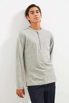 Publish Korbin Zip Henley Long Sleeve Tee