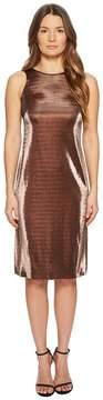 Escada Sport Dajetta Sleeveless Metallic Dress Women's Dress