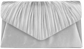 Jessica McClintock Women's Lily Satin Clutch.