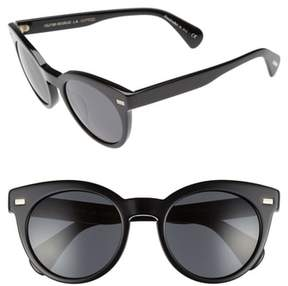 Oliver Peoples Women's Dore 51Mm Gradient Sunglasses - Black