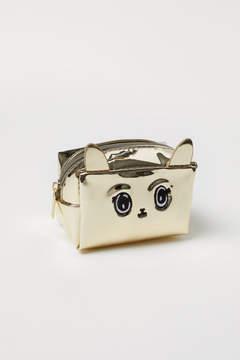 H&M Mini Pouch Bag - Gold