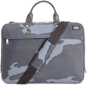 Jack Spade Men's Camo Waxwear Slim Briefcase