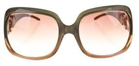 Jimmy Choo Marge Oversize Sunglasses