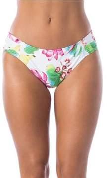 LaBlanca La Blanca Bora Bora Side-Shirred Bikini Bottoms
