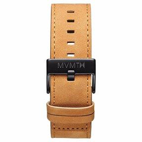 MVMT Mens Classic Series 24mm Tan Leather