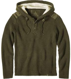 Prana Henley Hooded Sweater