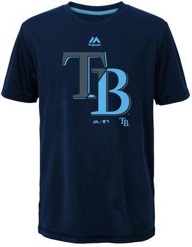 Majestic Tampa Bay Rays Split Series Ultra T-Shirt, Big Boys (8-20)