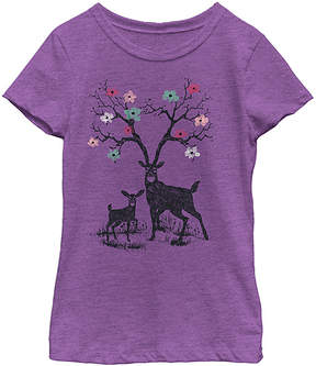 Fifth Sun Purple Berry Forest Prince Tee - Girls