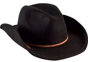 San Diego Hat Company Unisex Children's Faux Wool Cowboy Hat With Trim Ctk3549.