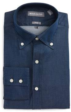 Michael Bastian Trim Fit Microdot Dress Shirt