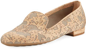 Sesto Meucci Kandi Flower Cork Loafer
