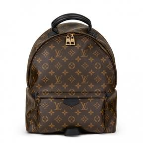 Louis Vuitton Palm Springs cloth backpack - BROWN - STYLE