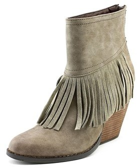 Very Volatile Khloe Women Round Toe Synthetic Ankle Boot.